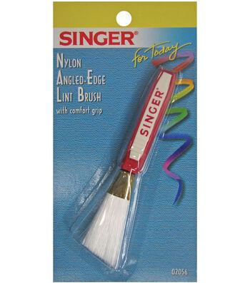 Angled Edge Lint Brush W/Comfort Grip