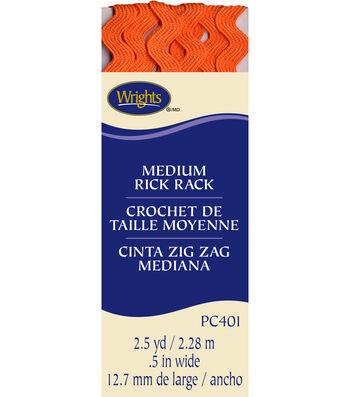 Medium Rick Rack Orange Peel