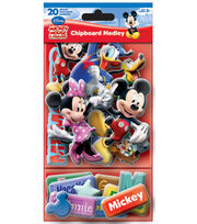 Mickey and Friends Chipboard Medley, , hi-res