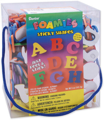 Darice Foam Stickers Alphabets