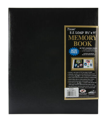 Pioneer EZ-Load 8 1/2'' x11'' Postbound Albums