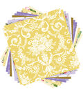 Cricut® Anna Griffin 12 Pack 12\u0027\u0027x12\u0027\u0027 Deluxe Papers-Amelie Melange