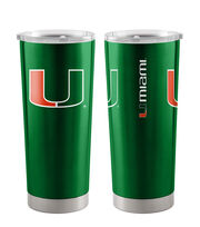 University of Miami Hurricanes 20 oz Insulated Stainless Steel Tumbler, , hi-res