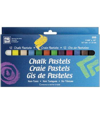 Loew Cornell Chalk Pastels-12PK