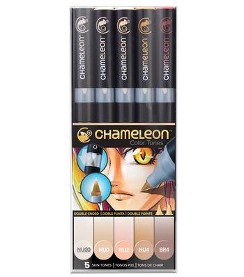 Chameleon 5 pk Color Tone Pens-Skin Tones
