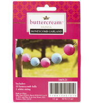 Buttercream™ Olivia Collection Honeycomb Balls, , hi-res