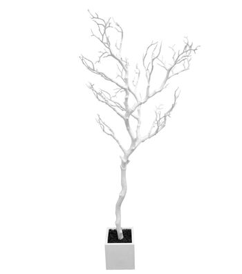 Easter Large Twig Tree-White