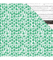 Kaisercraft Holly Jolly Double-Sided Cardstock-Zippy, , hi-res