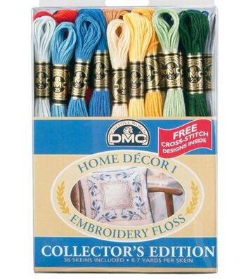 DMC Embroidery Floss Pack-Home Decor 36/PK
