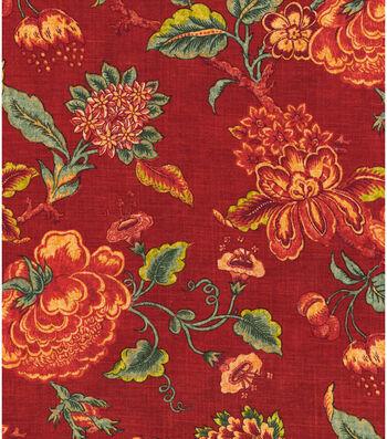 "Williamsburg Print Fabric 54""-Persiana/Bejeweled"