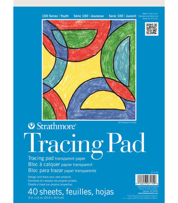 Strathmore 100 Series Tracing Pad, 9x12, 40 Sheets