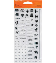 Fiskars® Clear Stamps-Stamp Four By Life Moments, , hi-res