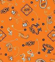 "Oklahoma State Cowboys Cotton Fabric 44""-Bandana, , hi-res"