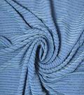 Nicole Miller Metallic Knit Fabric 58\u0022-Grapemist