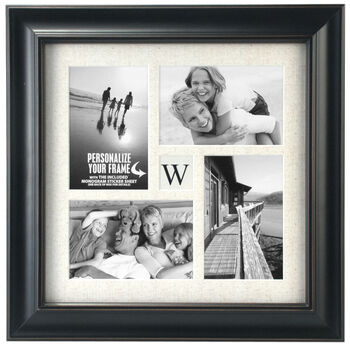 Tabletop Storyboard Frame 4X6-Family Monogram Collage