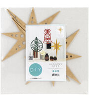 Kaisercraft Beyond The Page MDF 14.25''x11''x11'' Hanging Ornament-Star, , hi-res