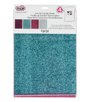 Tulip® Glam-It-Up!™ Iron-On Shimmer Transfer Sheets Urban, , hi-res