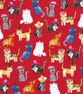 Novelty Cotton Fabric 44\u0027\u0027-Cats