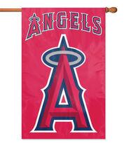 Los Angeles Angels Applique Banner Flag, , hi-res