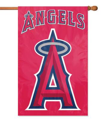 Los Angeles Angels Applique Banner Flag