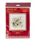 RIOLIS Counted Cross Stitch Kit 11.75\u0022X11.75\u0022-Watercolour Jasmine