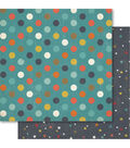 Bella! Boy Double-Sided Cardstock-Spotted