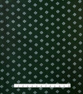 Varsity Club Stretch Silk Fabric 46\u0022-Green