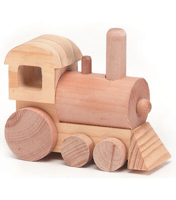 TRAIN  -WOOD TOY