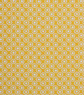 1930\u0027s Cotton Fabric 43\u0022-Floral Dot Yellow