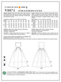 Mccall Pattern V8874 6-8-10-12--Vogue Pattern