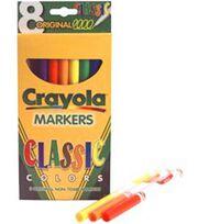 Crayola Fine Line Markers-Classic Colors 8/Pkg, , hi-res