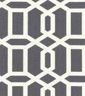 Swavelle Millcreek Print Fabric 54\u0022-Bondi Paramount Titanium