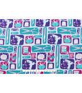 Anti-Pill Fleece Fabric 59\u0022-Crafting Sewing In Blocks