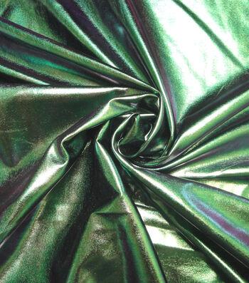 "Cosplay by Yaya Han 4-Way Stretch Fabric 58""-Oil Slick Green"
