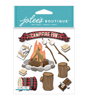 Jolee's Boutique® 11 Pack Dimensional Stickers-Campfire Fun, , hi-res