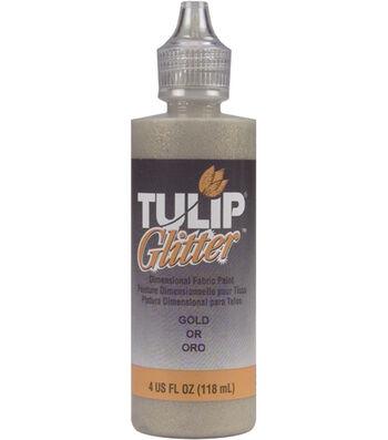 Tulip Dimensional Fabric Paint 4oz - Glitter