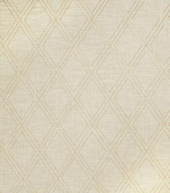 "Jaclyn Smith Print Fabric 54""-Alvin/Cashew"