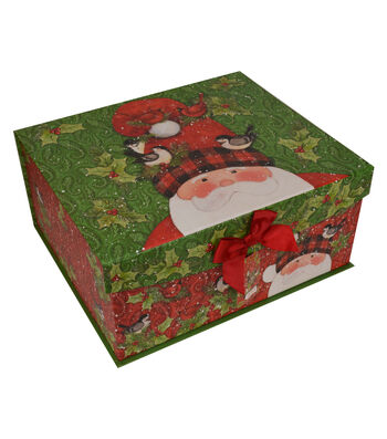 Maker's Holiday Large Flip Top Box-Tall Hat