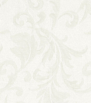 "Signature Series Solid Jacquard Fabric 54""-Ivory"