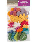 Feltworks Die Cut Flower Value Pack-Assorted