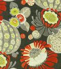 Waverly Print Fabric 54\u0022-Copacabana/Campari