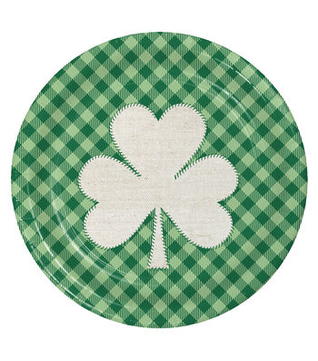 St. Patrick's Day Pack of 8 9'' Paper Dinner Plates