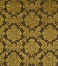 Home Decor 8\u0022x8\u0022 Fabric Swatch-Robert Allen Royal Damask Bark