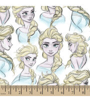 "Disney® Frozen Cotton Fabric 43""-Elsa, , hi-res"