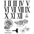 IndigoBlu Cling Mounted Stamp Clockwork