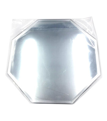"Octagon Glass Mirror W/Bevel Edge 8""-Bulk"