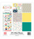 Echo Park Paper Company My Little Girl 12\u0022x12\u0022 Collection Kit