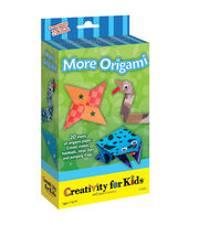 Creativity For Kids Origami Boy Mini Kit, , hi-res