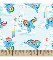 Hasbro® My Little Pony® Rainbow Dash Toss Cotton Fabric, , hi-res