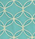 Home Decor 8\u0022x8\u0022 Fabric Swatch-Williamsburg Tanjib Emb Peacock